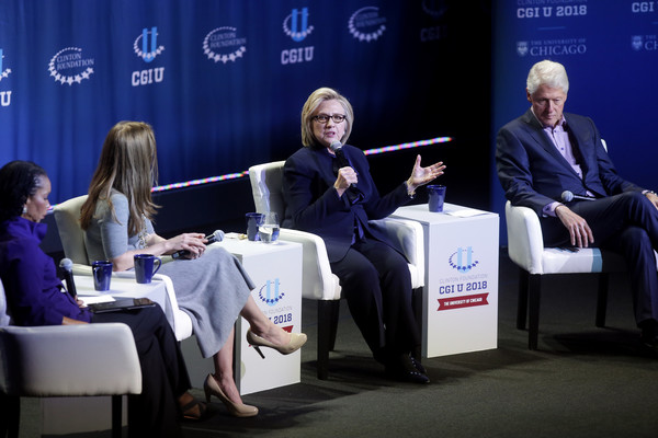 Former President Clinton, Hillary Clinton And Chelsea Clinton Give Closing Remarks At The Clinton Global Initiative University