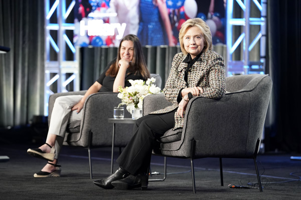 Hillary Clinton, Nanette Burstein - Hulu Panel - Winter TCA 2020