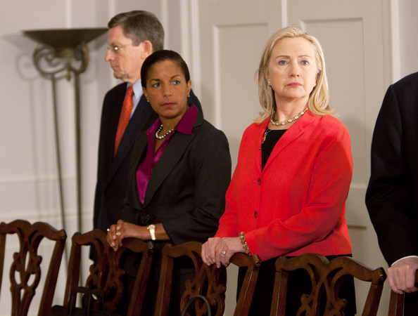 Image result for photos of susan rice and barack obama