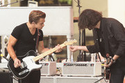 "Musician Hunter Hayes (L) performs on NBC's ""Today"" at the NBC's TODAY Show on August 22, 2014 in New York City."