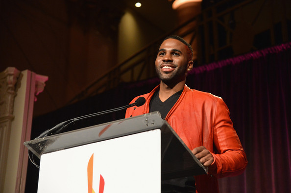 Jason Derulo Jason Derulo speaks onstage at the Christopher & Dana Reeve Foundation's A Magical Evening Gala at Cipriani, Wall Street on November 28, 2012 in New York City.