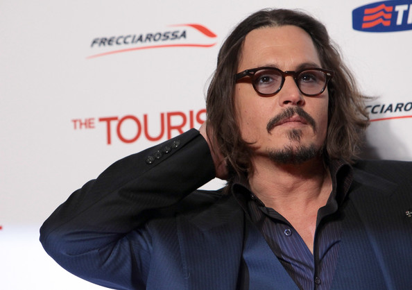 """Johnny Depp Johnny Depp attends """"The Tourist"""" premiere at The Space Cinema"""