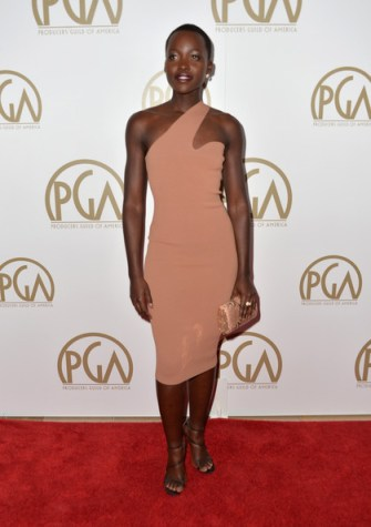 Lupita Nyong'o - Arrivals at the Producers Guild of America Awards