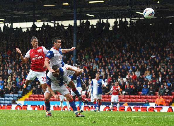Marouane Chamakh - Blackburn Rovers v Arsenal - Premier League