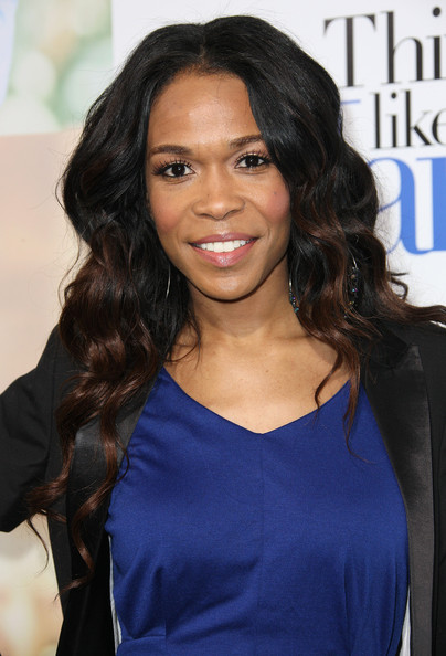 "Michelle Williams (singer) Recording artist Michelle Williams attends the Premiere of Screen Gems' ""Think Like A Man"" at the ArcLight Cinemas Cinerama Dome on February 9, 2012 in Hollywood, California."