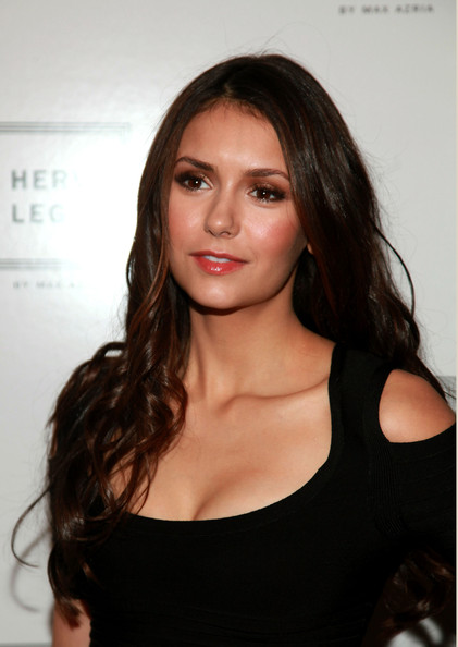 Nina Dobrev - Herve Leger By Max Azria - Backstage - Fall 2012 Mercedes-Benz Fashion Week
