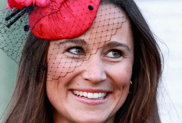 Pippa Middleton Pippa Middleton attends the wedding of Katie Percy to Patrick Valentine at St Michael's Church in Alnwick, Northumberland on February 26, 2011 in Alnwick, England. A friend of Prince William and Kate Middleton Lady Katie Percy, 28 who is the eldest daughter of the Duke and Duchess of Northumberland, will marry Patrick Valentine, 30, before a party at the family home Alnwick Castle.