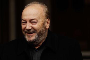 George Galloway Protests Are Held At The Royal Courts Of Justice Over Rupert Murdoch's News International
