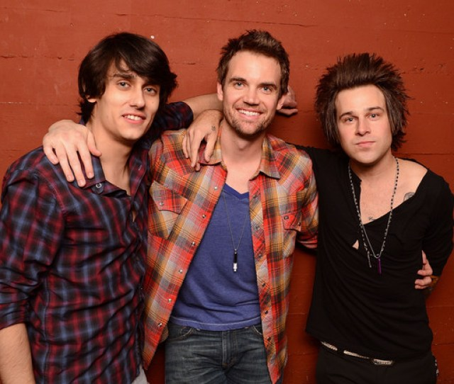 Ryan Cabrera Tyler Hilton And Teddy Geiger In Concert New York Ny