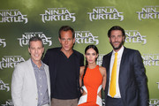 "Brad Fuller, Will Arnett, Megan Fox and Andrew Form arrive at the Sydney Special Event Screening of ""Teenage Mutant Ninja Turtles"" at The Entertainment Quarter on September 7, 2014 in Sydney, Australia."