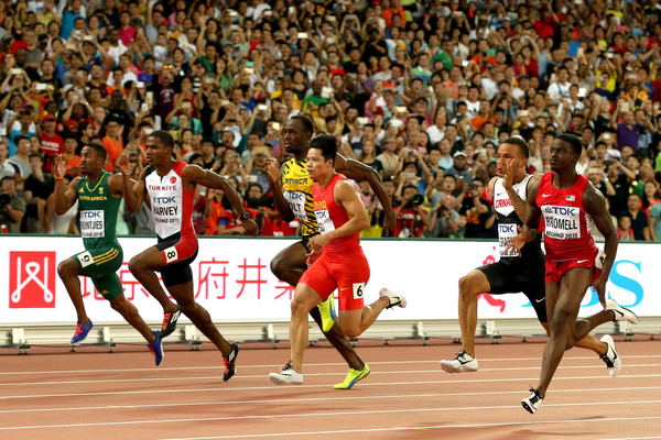 Usain Bolt Photos Photos - 15th IAAF World Athletics ...