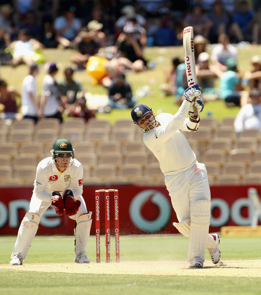 Virender Sehwag - Australia v India - Fourth Test: Day 4