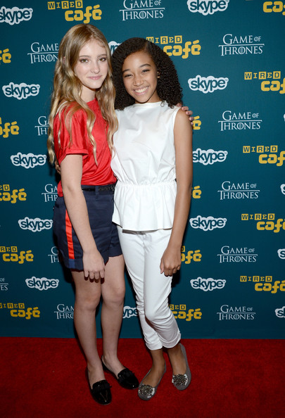 Willow Shields And Amandla Stenberg Photos Photos WIRED
