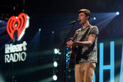Shawn Mendes performs at Y100's Jingle Ball 2014 official pre-show at BB&T Center on December 21, 2014 in Miami, FL.