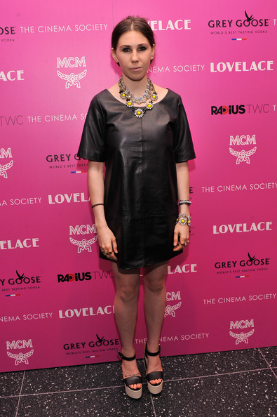 Zosia Mamet - 'Lovelace' Cinema Society and MCM With Grey Goose Screening - Arrivals