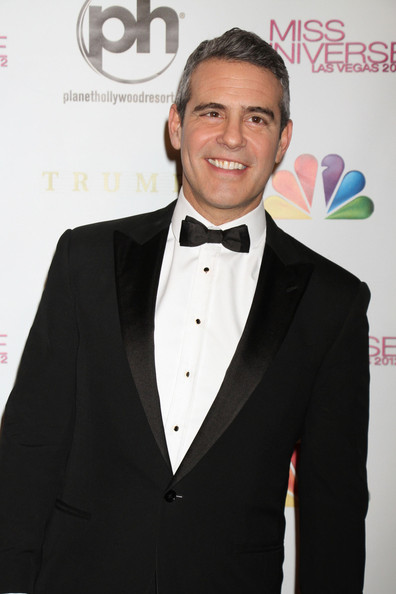 Andy Cohen Andy Cohen attends the Miss Universe 2012 pageant at the Planet Hollywood Resort and Casino in Las Vegas. Bravo's Andy Cohen and E!'s Giuliana Rancic hosted the pageant, in its 61st year.