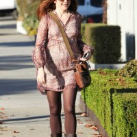 File Under: Posh and Preggers - Alyson Hannigan is a Yummy Mummy with Serious Sidewalk Style