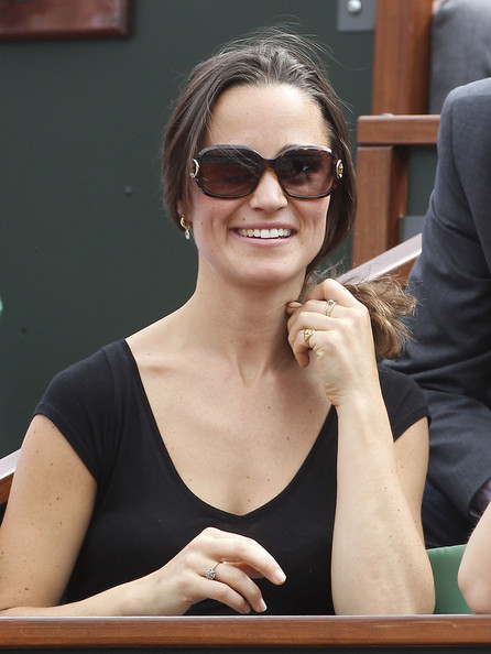 Pippa Middleton - Pippa Middleton at the French Open