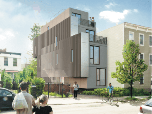 SHoP's modular Brooklyn brownstone project