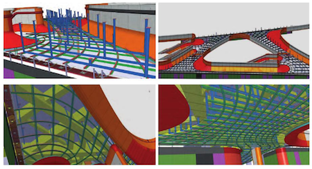 SKY SOHU Project BIM models