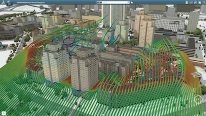 3DEXPERIENCity, Wind Simulation for Singapore City, Singapore
