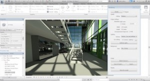 Render more quickly and accurately with Autodesk Raytracer, the default visualization engine in Revit 2017.  Image courtesy of Autodesk.