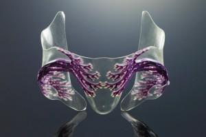 3D printed vascular skin