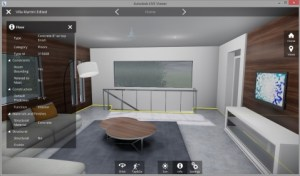 Autodesk LIVE Viewer, Villa Martini