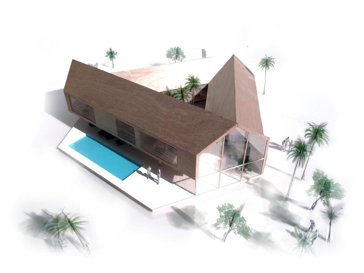 Archshowcase Triangular House In Ecuador By We Architects