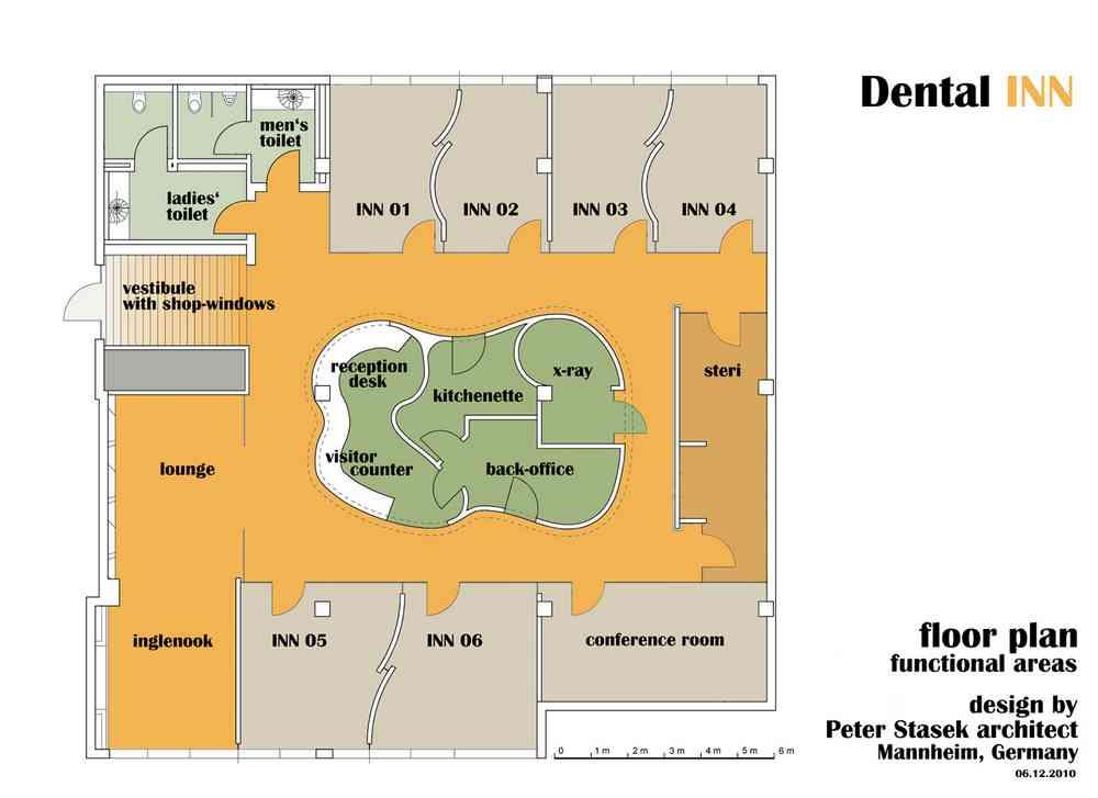 Dental INN In Viernheim, Germany Designed By Architect Peter
