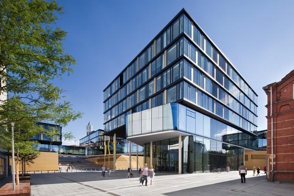 Archshowcase Aachenmunchener Headquarters In Aachen Germany