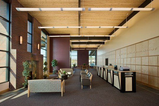 Archshowcase Teton Radiology Center By Ward Blake Architects