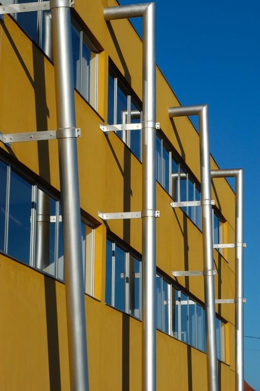 Details of the Posterior Façade of the Building