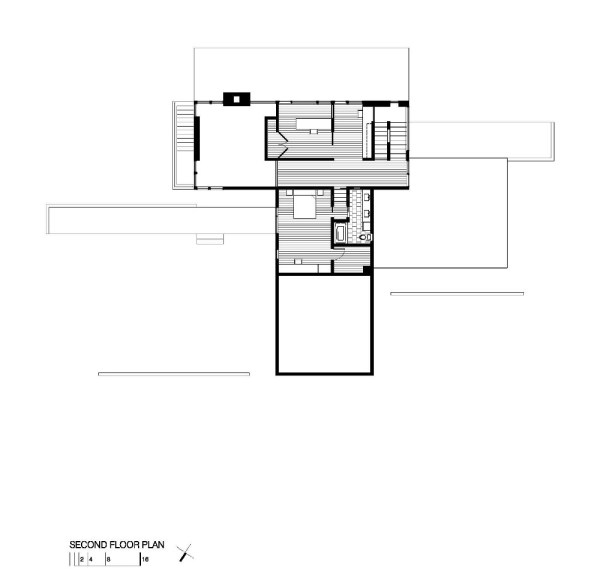 Harkavy Residence 2nd Floor Plan