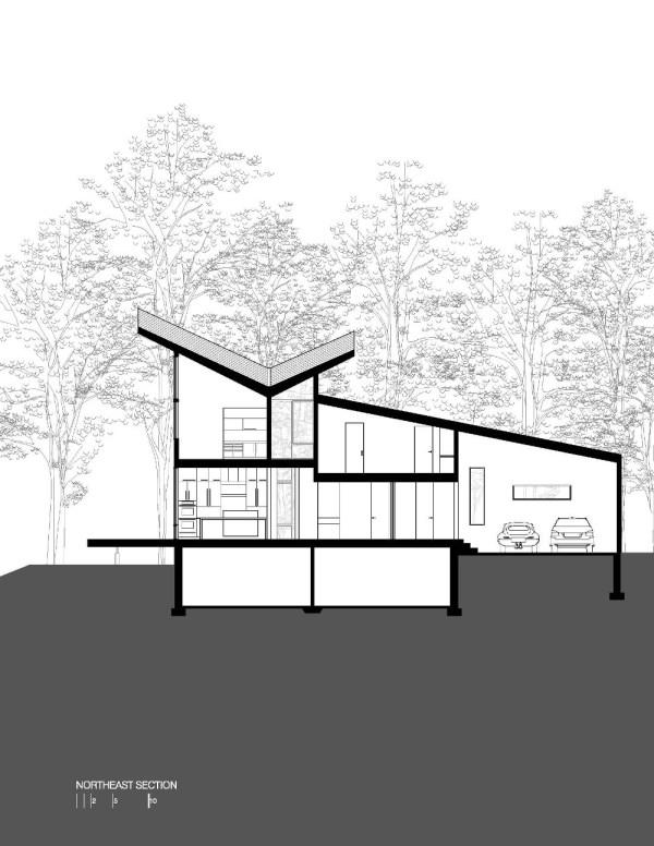 Harkavy Residence Section NorthEast