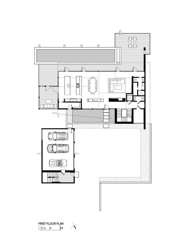 Wissioming Residence First Floor Plan