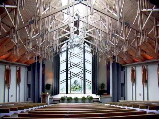 Worship Center Interior Back