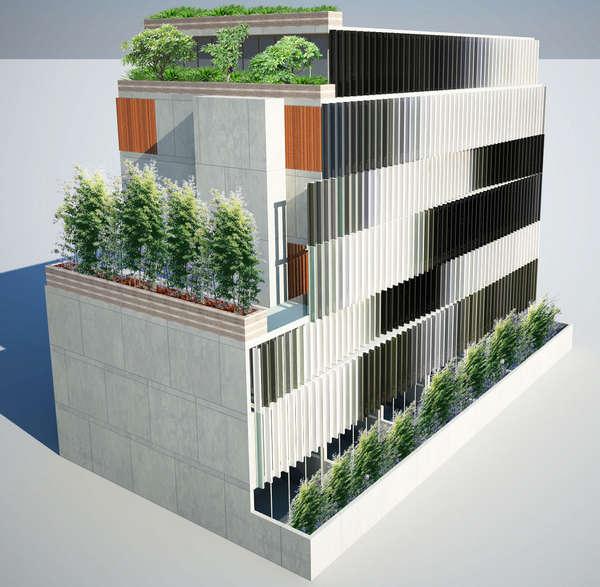 Eden Apartments In Sydney, Australia By Tony Owen Partners