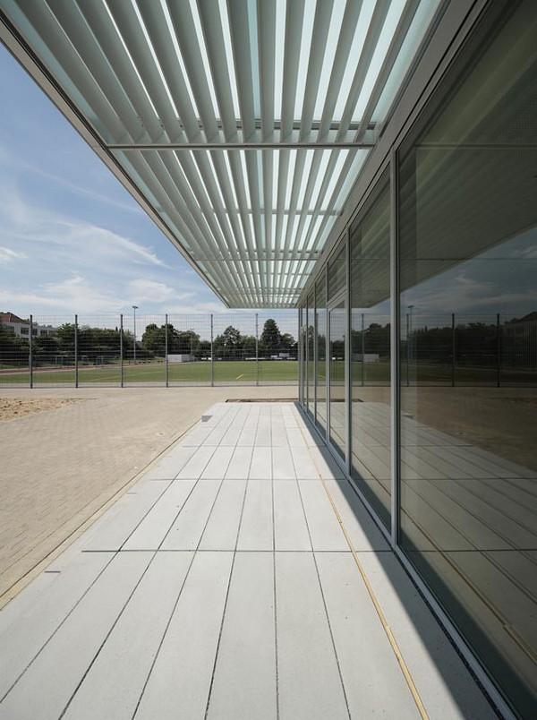 Double Sports Hall in Bielefeld-Ubbedissen by Architekten