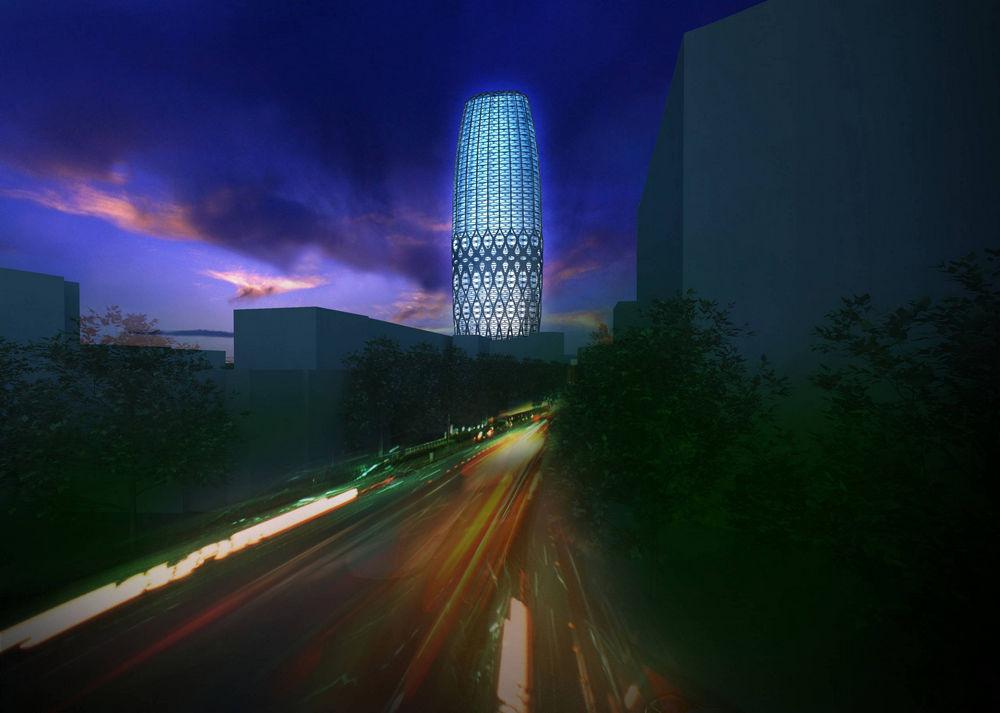 Dorobanti Tower In Bucharest Romania By Zaha Hadid Architects