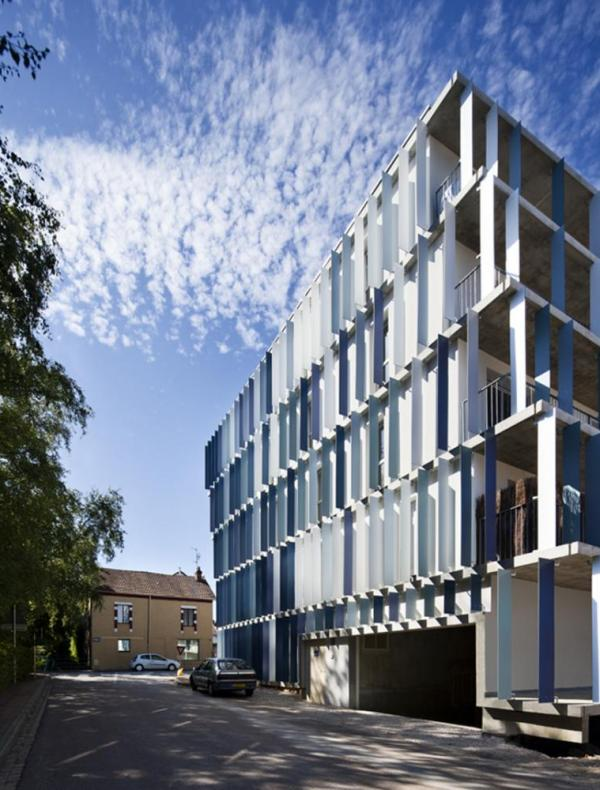 Chl social housing in chalon sur sa ne france by ateliers o s for Architecte chalon sur saone