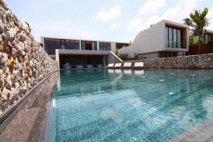 Casa de la flora resort in khao lak thailand by vaslab for Pool design sketchup