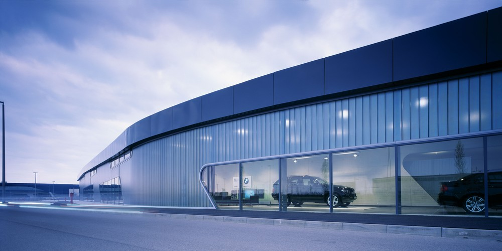 Archshowcase Bmw Showroom In Leipzig Germany By Zaha Hadid