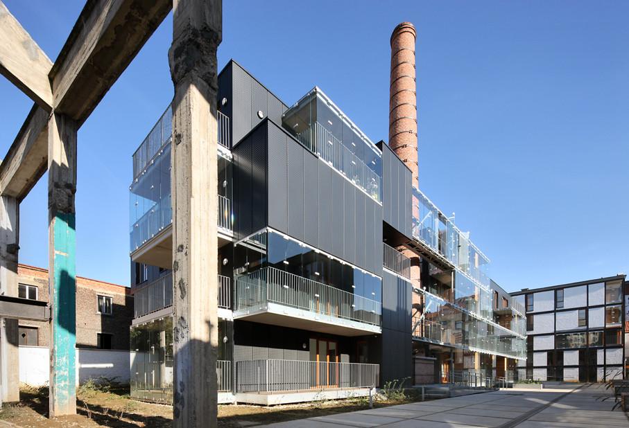 Savonnerie Heymans Par in BrusselsBelgium by MDW Architecture