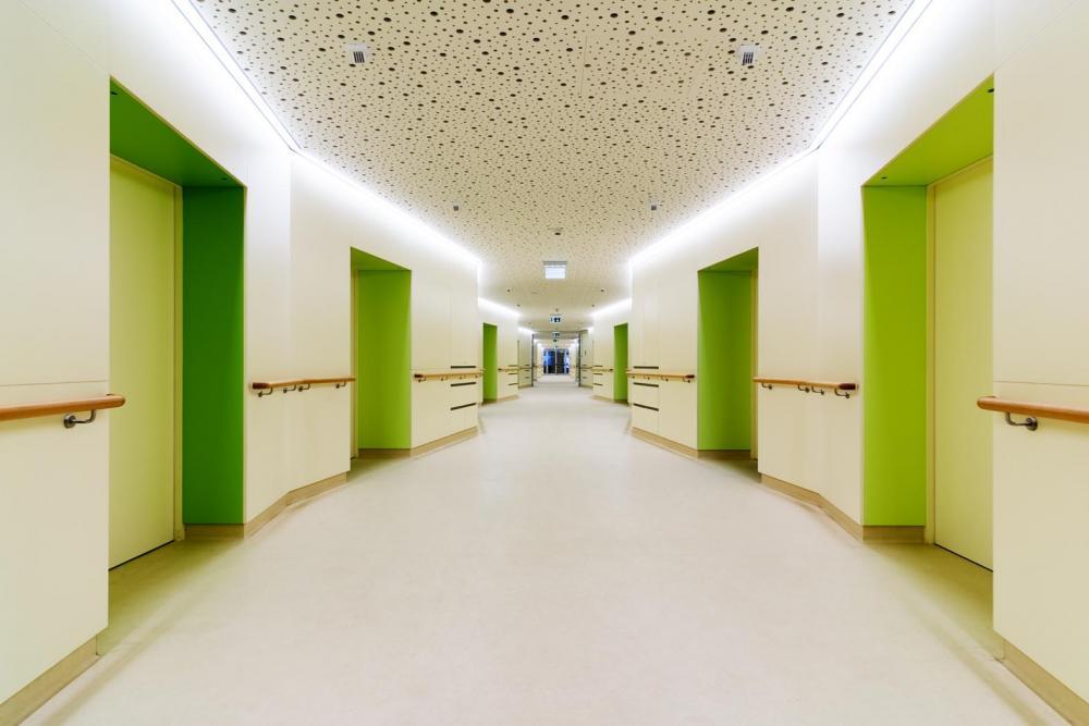 Nursing Home Hainburg In Austria By Christian Kronaus Erhard