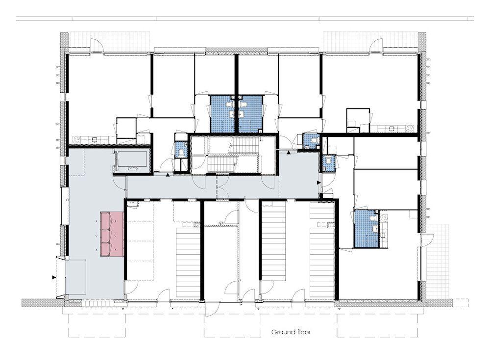 Senior housing de dijken 10 den haag in leidschenveen the for Senior house plans