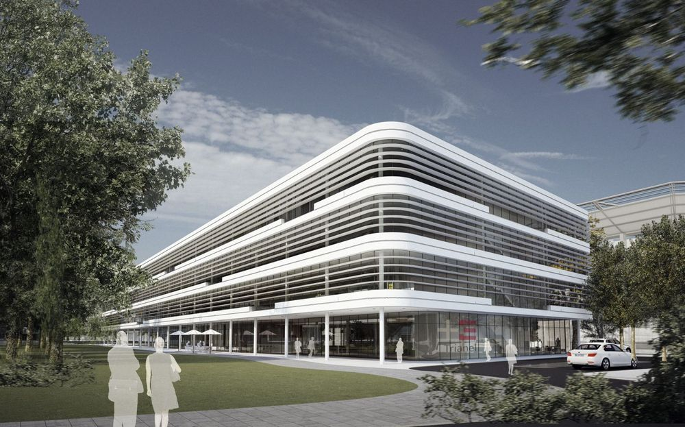The Trianel Gmbh Corporate Centre In Aachen Germany By Gmp