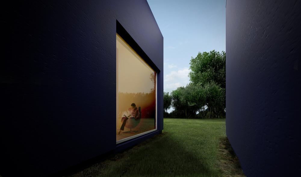 Archshowcase L House In Lodz Poland By Moomoo Architects