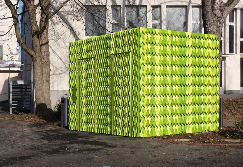 ArchShowcase - Public Toilets in Uster by Gramazio & Kohler