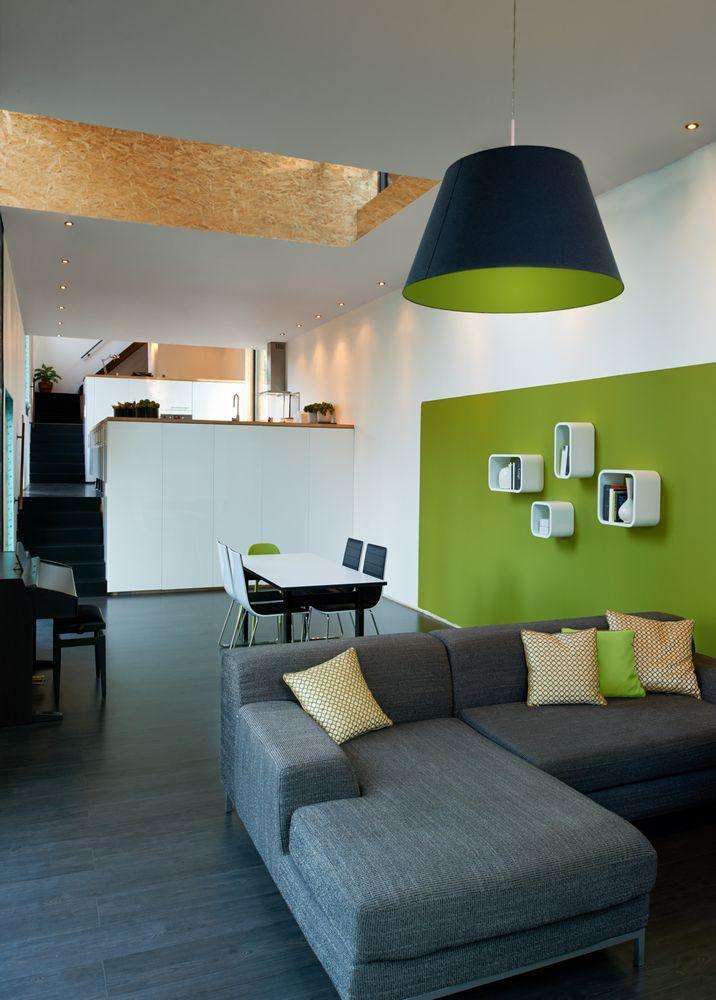 Goossens Design Bank.Low Energy Bamboo House In Rotselaar Belgium By Ast 77